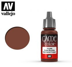 Vallejo Game Color 72059 Hammered Copper 17ml.