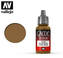 Vallejo Game Color 72040 Leather Brown 17ml.