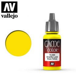 Vallejo Game Color 72005 Moon Yellow 17ml.