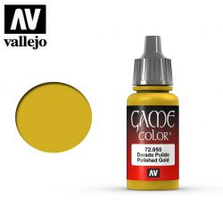 Vallejo Game Color 72055 Polished Gold 17ml.