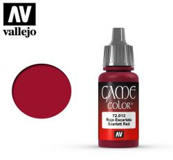 Vallejo Game Color 72012 Scarlet Red 17ml.