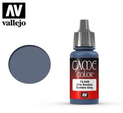 Vallejo Game Color 72048 Sombre Grey 17ml.