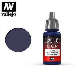 Vallejo Game Color 72018 Stormy Blue 17ml.