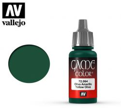 Vallejo Game Color 72064 Yellow Olive 17ml.