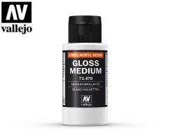 Vallejo 73470 Gloss Medium 60ml.