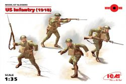 ICM 35693 US Infantry (1918) [4szt] 1:35