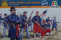 Italeri 6012 Union Infantry and Zouaves [American Civil War] 1:72