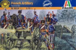 Italeri 6018 French Line Guard Artillery - Napoleonic Wars 1:72