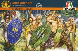 Italeri 6022 Gaul Warriors (1st-2nd B.C.) 1:72