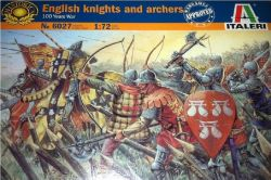 Italeri 6027 English Knights and Archers (100 Years War) 1:72