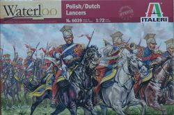 Italeri 6039 Polish / Dutch Lancers [Napoleonic Wars] 1:72