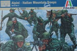 Italeri 6059 Alpini - Italian Mountain Troops (WWII) 1:72