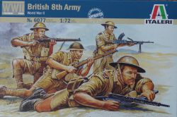 Italeri 6077 British 8th Army (WWII) 1:72