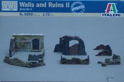 Italeri 6090 Walls and Ruins II 1:72