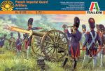 Italeri 6135 French Imperial Guard Artillery 1815 1:72