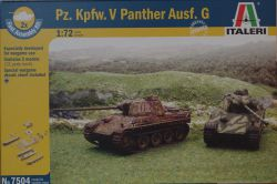 Italeri 7504 Pz.Kpfw.V Panther Ausf.G [Fast assembly Kit] 1:72