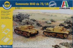 Italeri 7519 Semovente M40 da 75/18 [Fast Assembly Kit] 1:72