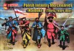 Mars 72033 Polish Infantry Mercenaries Haiduki (Thirty Years War) 1:72