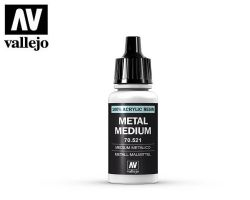 Vallejo 70521 Metal medium 17ml.
