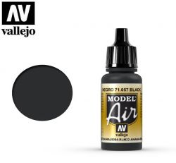 Vallejo Air 71057 Black RAL9004 17ml - Farba do aerografu
