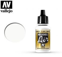 Vallejo Air 71001 White RLM21 - Farba do aerografu - 17ml