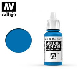 Vallejo 70736 Blue Fluorescent MC209 17ml