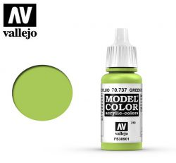 Vallejo 70737 Green Fluorescent MC210 17ml