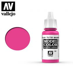 Vallejo 70735 Magenta Fluorescent MC208 17ml.