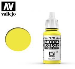Vallejo 70730 Yellow Fluorescent MC206 17ml.