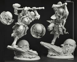Scibor 54FM0029 Knight total height 115mm - Rycerz