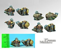 Scibor 15FM0001 Dwarves Lords 15mm