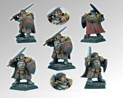 Scibor 28FM0099 Knight Jurand 28mm - Rycerz