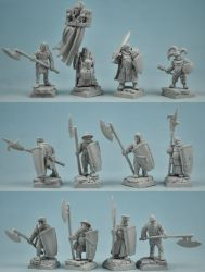 scibor-miniatures-28fm0101-town-guard-set-28mm
