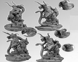 Scibor 28FM0126 Great Demon 28mm