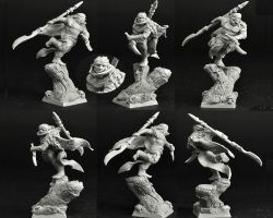 Scibor 28FM0277 Wood Elf Warrior 28mm - Leśny elf