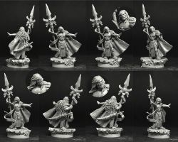 Scibor 28FM0351 Sci Fi Elf Lord 28mm - Wysoki Elf