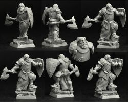Scibor 28FM0380 Knight #5 28mm - Rycerz