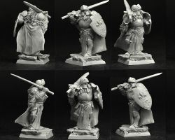 Scibor 28FM0381 Knight #6 28mm - Rycerz