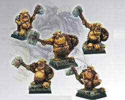 Scibor 28GB0007 Goblin Warband [5szt] 28mm