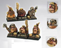 Scibor 28GB0011 Goblin Warriors [3szt.] 28mm