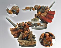 Scibor 28SF0032 Celtic SF Lord 28mm - Space marine