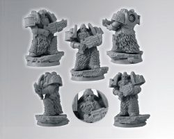 Scibor 28SF0035 Celtic SF Veteran #1 28mm - Space marine