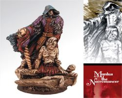 Scibor 54FM0002 Mantus the Necromancer - Nekromanta 54mm