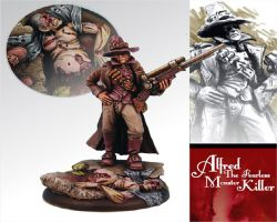 Scibor 54FM0006 Alfred The Fearless Monster Killer 54mm