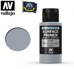 Vallejo 73615 Surface Primer USN Light Ghost Grey (FS36375) 60ml - Podkład akrylowy