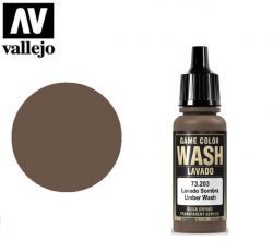 Vallejo 73203 Umber Wash 17ml.