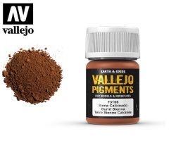 Vallejo Pigments 73106 Burnt Sienna 35ml