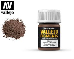 Vallejo Pigments 73110 Burnt Umber 35ml