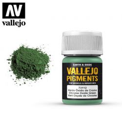 Vallejo Pigments 73112 Chrome Oxide Green 35ml