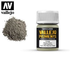 Vallejo Pigments 73104 Light Sienna 35ml